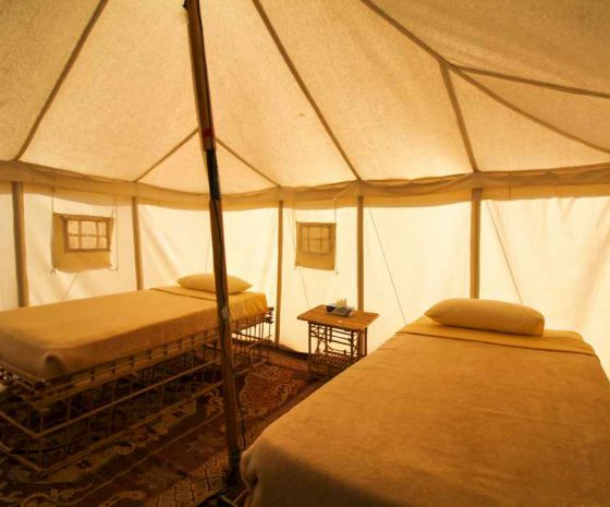 Wadi Lahami tente