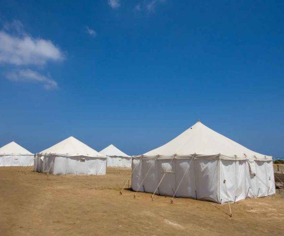 Wadi Lahami tentes royales