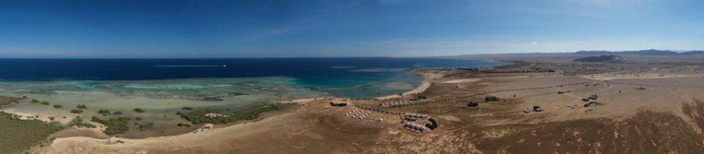 Wadi Lahami vue aérienne