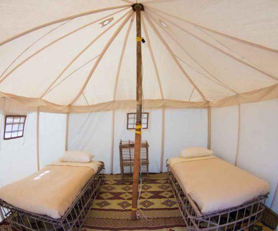 tente Wadi lahami lits jumeaux