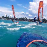 windsurfing, Cabarete bay 1