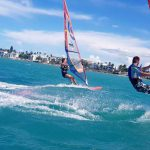 windsurfing, Cabarete bay 2