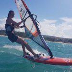 windsurfing, Cabarete bay 5