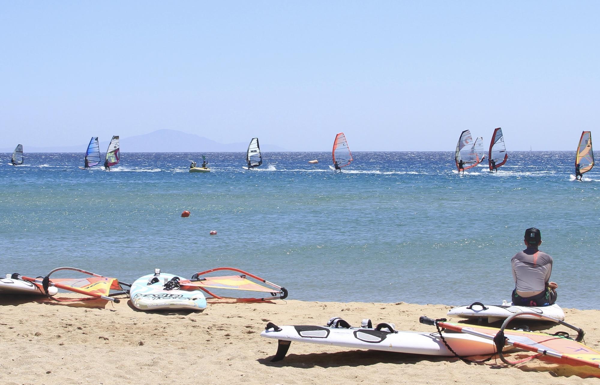 Séjour windsurf à Paros - Grèce - Spots d'Evasion