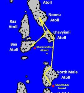 Itinéraire croisière Nord Macana