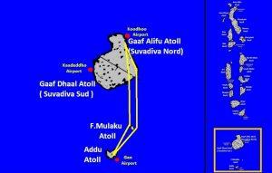 Itinéraire Addu-Fuvamulah-Suvadiva-Addu