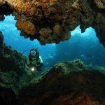 plongée à Pico grotte