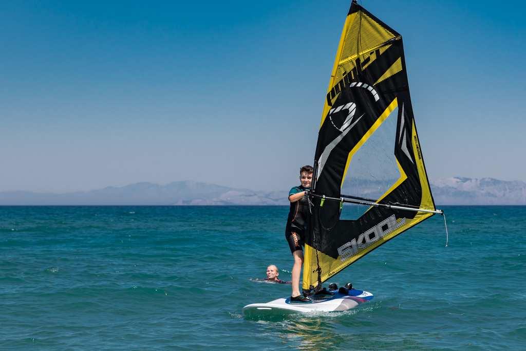 Sejour Windsurf A Rhodes Grece Spots D Evasion