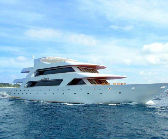 Croisière plongée Maldives bateau Haleema