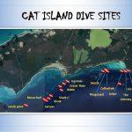 Bahamas plongée Cat Island Carte sites plongée
