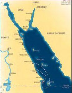 carte intinéraire croisière Zabargad