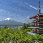 apon moderne et traditionnel mont Fuji circuit Tokyo Kyoto