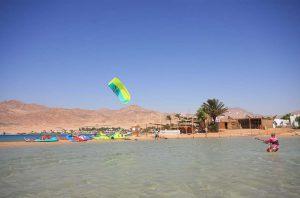 Egypte Dahab kitesurf