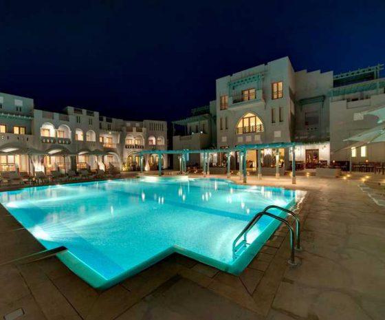 Fanadir El Gouna piscine de nuit