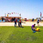 zone de lancement kite Djerba Tunisie